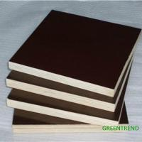 Wholesale 9mm/12mm/15mm/18mm 1220mm*2440mm Marine Plywood/Film Faced Plywood from china suppliers
