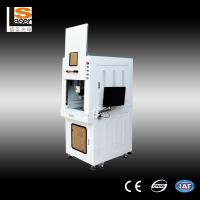 Wholesale Safety Fiber Laser Marking Machines , 60w laser marking equipment High Speed for chip from china suppliers