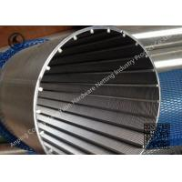 Wholesale High Precision Wedge Wire Screen Stainless Steel Johnson Well Screen Tube from china suppliers