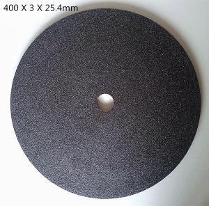 China 16 inch chop saw steel Cutting wheels / Cut off discs on sale