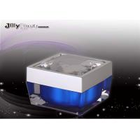 Square Capacity 50ml Plastic Jars With Lids , Beauty Product Containers