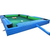 China Waterproof Inflatable Sports Games Human Snooker Inflatable Table Game Wsp-186 on sale