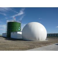 Wholesale Enamel Industrial Water Tanks , Commercial Water Storage Tanks CAD Design from china suppliers
