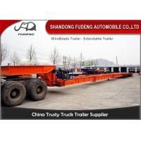 Wholesale 28 M - 56 M Windmill Blade Extendable Lowboy Trailer For Long Vehicle Transportation from china suppliers