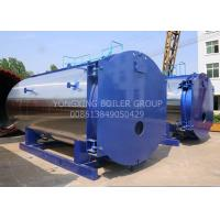Wholesale WNS15ton 1.25Mpa New Design Low-nitrogen Condensing Gas Fired Steam Boiler For Industrial from china suppliers
