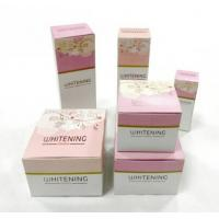 Wholesale Luxury Skin Care Cosmetic Paper Box , Custom Cosmetic Packaging Boxes from china suppliers