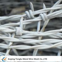 Wholesale Barbed Wire| Made by Stainless Steel Wire Single and Double Ttwist Barb Wire from china suppliers