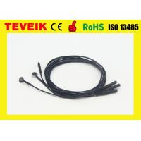 Buy cheap Flexible soft EEG electrode cable with silver chloride plated copper ,emg electrodes from wholesalers