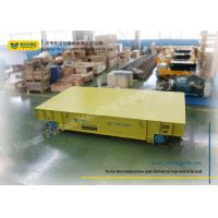 Wholesale Steel Wheel Rail Transfer Cart Adjustable Speed Factory Automatic Steerable Trailer from china suppliers