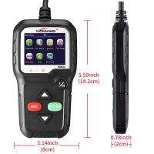 China Konnwei KW680  Automotive Code Readers Scan Tools O2 Sensor EVAP System on sale