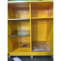 Wholesale Flammable Goods Storage Cabinets With Earthing Socket For Combustible Liquid / Paint from china suppliers
