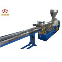 Wholesale Color Masterbatch Making Pellet Twin Screw Extruder Machine Water Strand Cutting from china suppliers