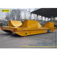 Towed Cable Powered Coil Transfer Trolley Customized Color For Metal Sheet