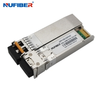 Wholesale Duplex LC 10G SFP+ Transceiver Hot Pluggable 80km 1590nm 1610nm from china suppliers