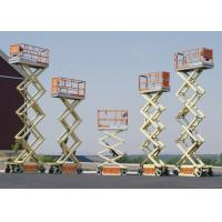 Wholesale Mobile Scissor Lift Work Platform For Construction Sites CE Certified from china suppliers