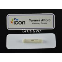 Wholesale ABS 3D Epoxy Domed Coated Personalised Name Badges For Nurses / Kids from china suppliers