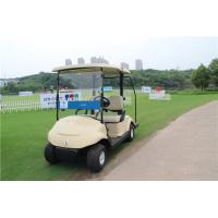 Buy cheap High Speed Electric Motor 2 Seater Golf Carts , Two Seat Golf Cart Utility Vehicle from Wholesalers