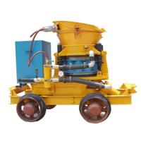 Wholesale wet and dry type shotcrete machine for construction or mine from china suppliers