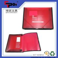 Wholesale Stationery Translucent PP File Case With Elastic Customized Folder Case Document Box from china suppliers
