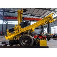 Wholesale Air Compressor Equipped Hammer Water Well Drilling Rig 380V 0-62r/Min Rotary Speed from china suppliers
