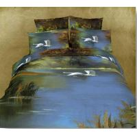 Buy cheap 100% Cotton Reactive Printing Bedding Set (FS-209) from wholesalers