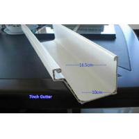 Wholesale White 7 Inch PVC Rain Gutter Downspout Extension Home Rain Gutters from china suppliers