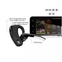 China V8 Voyager Bluetooth Headset Handfree Bluetooth V4.0 Earhook Voice Control HeadPhone for Iphone 7 8 X Samsung S7 S8 on sale