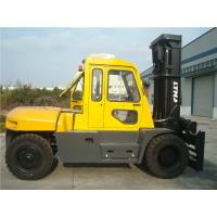 Wholesale Diesel Powered Forklift 12 Ton , Container Mast Forklift  With Fork Positioner from china suppliers