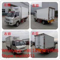 Buy cheap FOTON 4×2 41HP 1tons Refrigerator Truck,best quality  forland mini 1tons gasoline cold room truck for ice-cream for sale from Wholesalers