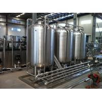 Semiauto CIP Cleaning System 500L Tank For Dairy / Beer / Beverage Processing Line