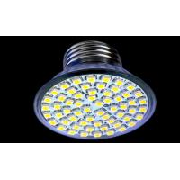 Wholesale Bright Warm White SMD 5050 3W 280LM GU10, MR16 Led Spot Lamps Bulbs 12V AC / DC from china suppliers