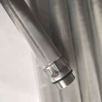 Wholesale Micron 30x440 Stainless Steel Water Filter Candle For Lubricant Oil from china suppliers