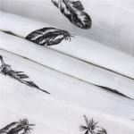 PMF 014 100 Cotton Printed Muslin Fabric Customized Print Anti Pilling