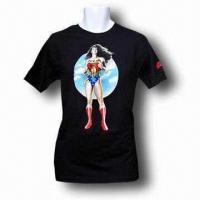 Wholesale Men's T-shirt, Made of Cotton, Various Sizes are Available from china suppliers