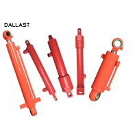 Wholesale Double Acting Telescopic Hydraulic Cylinder , Piston Farm Machinery Hydraulic Oil Cylinder from china suppliers