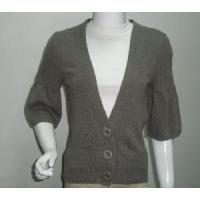 Wholesale Ladies Knitted Cardigan, 3/4sleeve Sweater (SFY-A056) from china suppliers
