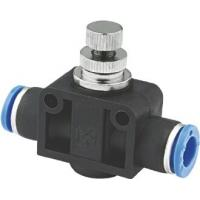Buy cheap One Way Pneumatic Flow Control Valves For Connecting To Male Plug In Connections from Wholesalers