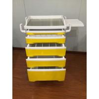 Wholesale Carton Packing Medical Hospital Equipment Crash Cart, Nurse Hospital Trolley Cart Emergency Trolley from china suppliers