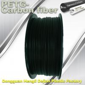 Wholesale High Strength Filament 3D Printer Filament 1.75mm PETG - Carbon Fiber Black Filament from china suppliers