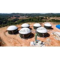 Wholesale Anti Corrosion Simple Biogas Digester , Bio Digester Tank Fast Installation from china suppliers
