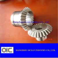 China Spur spiral bevel Gears and pinions , ring worm helical special gear on sale
