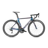 China Shimano Groupset Disc Carbon Road Bike , 22 Speed Carbon Bike Alu Alloy CNC on sale