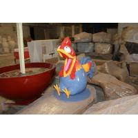 Wholesale outdoor  mascot  rooster statue by fiberglass in garden/ plaza/ shopping mall for attraction from china suppliers