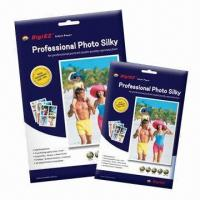 Wholesale 190gsm Premium Silky RC Inkjet Photo Papers, A4/4R, Brilliant Colors Contrast from china suppliers