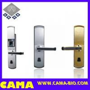 Wholesale Fingerprint Door Lock for Steel Door with Slide Cover from china suppliers