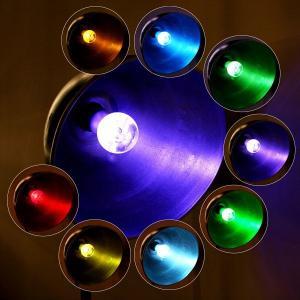 Quality AC85~265V 3W E27 Flash RGB remote controlled LED Crystal Light Bulb for sale