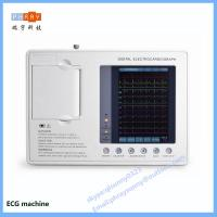 Wholesale hospital use 3 channel 6 channel 12 channel ECG machine with touch screen from china suppliers