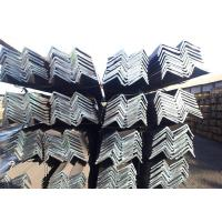 China Mild Angle Iron Bar , Hot Rolled Unequal Steel Angle Fire Proof on sale