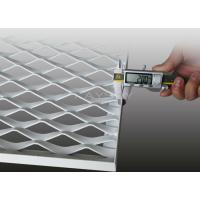 Aluminium expanded metal mesh ceiling panel for building for Aluminium composite panel interior decoration