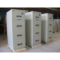 Wholesale 3 Drawer Fire Resistant Filing Cabinets For Storing Documents In Hotel / Office from china suppliers